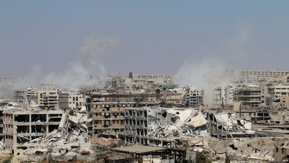The deteriorating situation of human rights in the Syrian Arab Republic, and the recent situation in Aleppo
