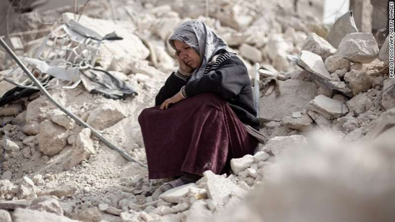human proper rights violations on syria article
