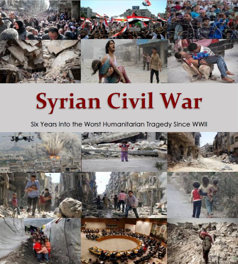 Syria Six Years Into The Worst Humanitarian Crisis