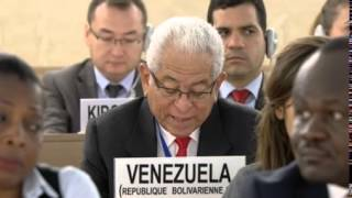 22nd Special Session of Human Rights Council, Venezuela Bolivarian Republic of, Mr Jorge Valero