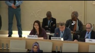 28th Regular Session of Human Rights Council - 52nd Meeting - ID: OHCHR on ISIL - Mr Jan Lonn