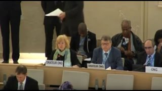 28th Regular Session of Human Rights Council - ID: OHCHR on ISIL - Ms Karen Parker