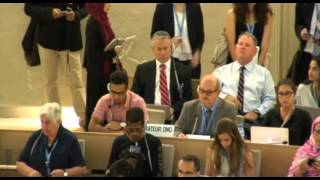 29th Regular Session of Human Rights Council - 34th Meeting: Item 7 - Mr. Mohamed Jahadin Hacenna