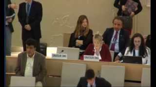 30th Session of the Human Rights Council - Item 4 - Ms Eleanor McClelland