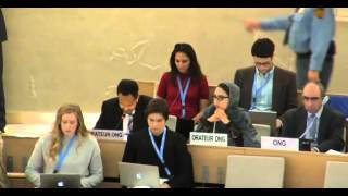31st Session of the Human Rights Council - Item 3 - Mr Boris Blasberg