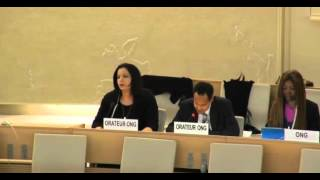 31st Session of the Human Rights Council - Item 9 - Mr Boris Blasberg