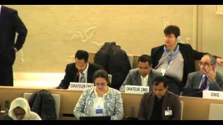 31st Session of the Human Rights Council Item 3 Mr Boris Blasberg