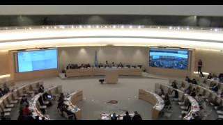 31st Session of the Human Rights Council - Item 9 - Ms Lamia Fadla English