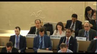32nd session of the Human Rights Council - Item 2 - Ms Alessia Vedano