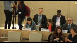 32nd session of the Human Rights Council - Item 3 - Ms. Gorzkowski Julie - English