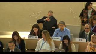32nd session of the Human Rights Council - Item 7 - Ms Alessia Vedano