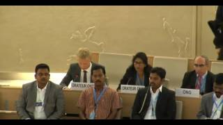 32nd session of the Human Rights Council - Item 9 - Mr. Troy Jonatan Bjorkman
