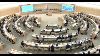 33rd session of the Human Rights Council - Item 3 - Anne Béatrice de Gressot