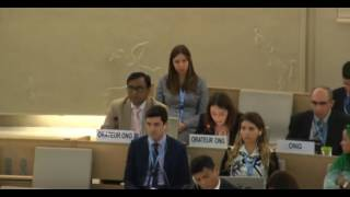33rd session of the Human Rights Council - Item 4 - Ms Alessia Vedano