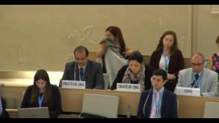 33rd session of the Human Rights Council - Item 9 - Ms Lamia Fadla