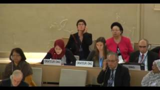 33rd session of the Human Rights Council - Item 10 - Ms Iman Abu Zueiter
