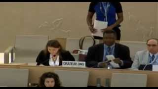22nd Session of the UN Human Rights Council - item 10 - Ms Gala Maric