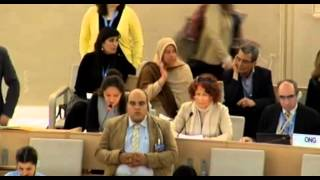 23 Session of the Human Rights Council - Item 3 - Ms Yanet Bahena
