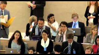 23 Session of the Human Rights Council - Item 7 - Mr Issa Amro
