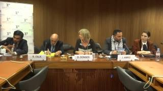 Side-event: Human Rights in Palestine, 11 June 2013, Nasim Ahmed