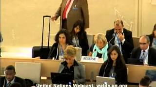 24 Session of the Human Rights Council - Item 3