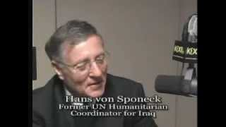 Hans von Sponeck: Peace Plan for Iraq