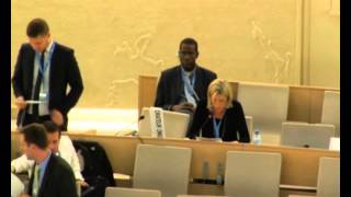 GICJ/President - Closing statement 25th Regular Session of Human Rights Council