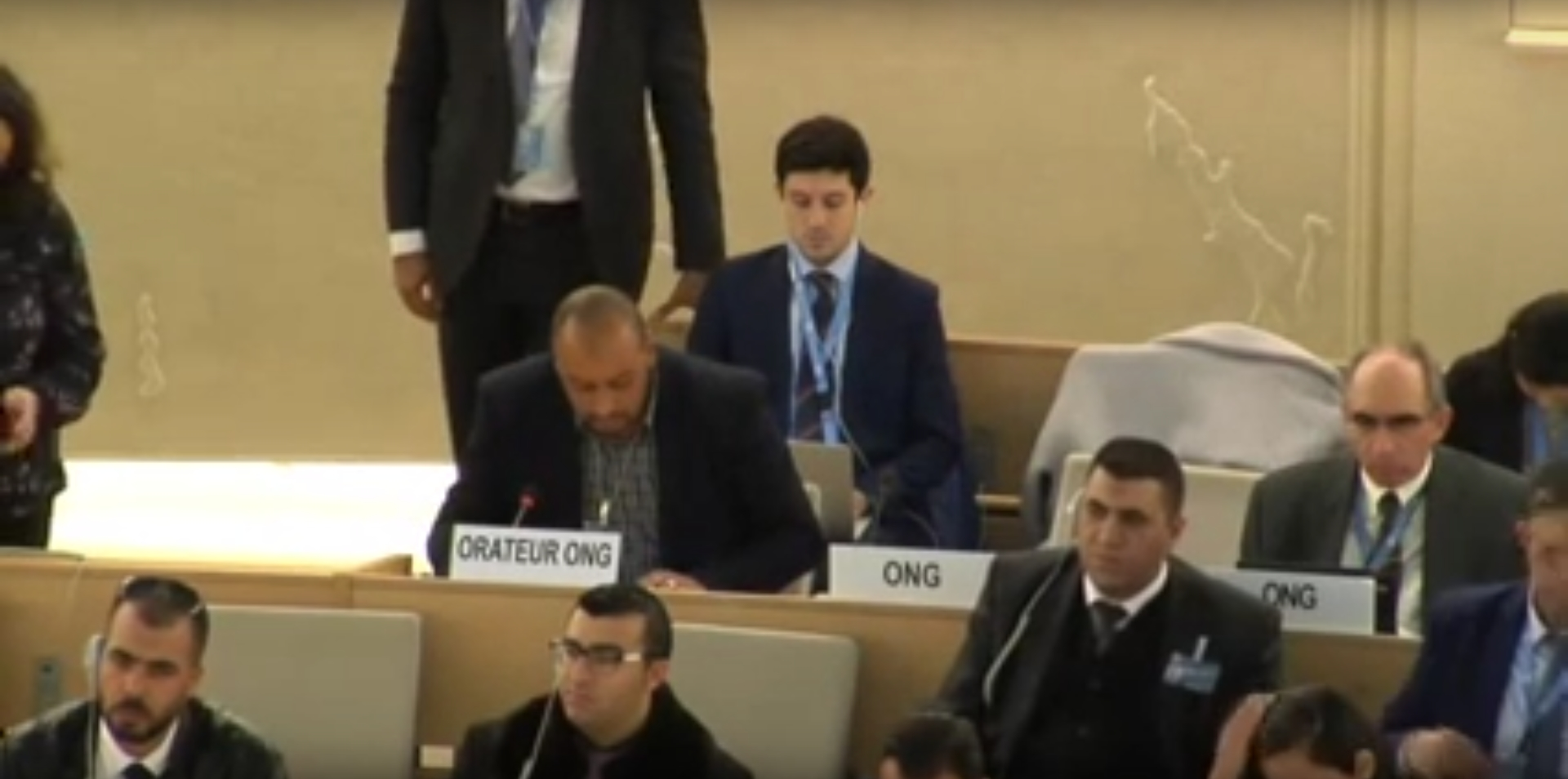 34th Session of the Human Rights Council - GD Item: 7 - Mr Naser Abuhammoud - 20 March 2017