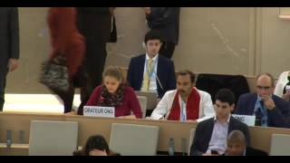 34th Session of the Human Rights Council - GD Item: 9 - Ms Lisa-Marlen Gronemier - 20 March 2017