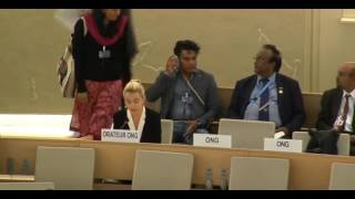 34th Session of the Human Rights Council - GD Item: 10 - Ms Alice Wickens - 23 March 2017