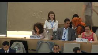 35th Session of the Human Rights Council - GD Item: 3 - Ms Giulia Squadrin 14 June 2017