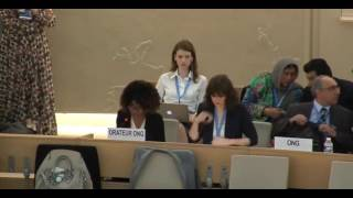 35th Session of the Human Rights Council - GD Item: 3 - Ms Ife Kolade 14 June 2017