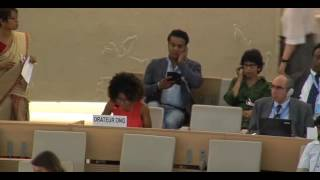35th Session of the Human Rights Council - GD Item: 10 - Ms Ife Kolade 21 June 2017