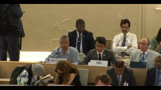 35th Session of the Human Rights Council - GD Item: 5 - Mr Siddharth Abraham Srikanth 16 June 2017