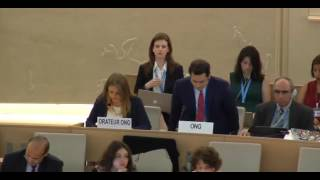 35th Session of the Human Rights Council - GD Item: 6 - Ms Lisa-Marlen Gronemeier 19 June 2017