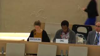 36th Session of the Human Rights Council - ID: Working Group African Descent - Mr. Mutua K. Kobia 26 September 2017