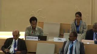 36th Session of the Human Rights Council - ID on Human Rights in Central African Republic - Mutua K. Kobia 28 September 2017