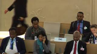 36th Session of the Human Rights Council - ID on Human Rights in Democratic Republic of Congo - Mutua K. Kobia 27 September 2017