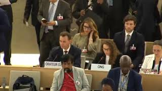 36th Session of the Human Rights Council - GD Item 4 (French) - Ms. Alessandra Zanzi 20 September 2017