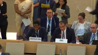36th Session of the Human Rights Council - GD Item 6 (Arabic) - Mr. Ashraf Hegazi 25 September 2017