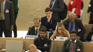 36th Session of the Human Rights Council - GD Item 3 - Ms. Jennifer D. Tapia 18 September 2017