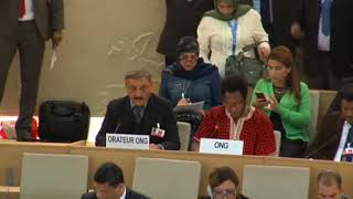 36th Session of the Human Rights Council - GD Item 5 - Mr. Mutua K. Kobia 21 September 2017