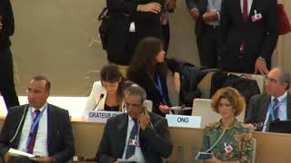 36th Session of the Human Rights Council - GD Item 7 - Ms. Saja Misherqi 25 September 2017