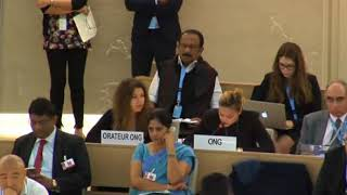 36th Session of the Human Rights Council - GD Item 8 - Ms. Hoda Aridi 26 September 2017