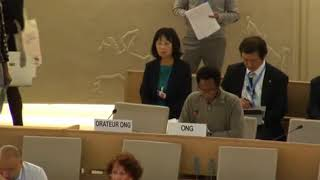36th Session of the Human Rights Council - GD Item: 2 - Mr. Mutua K. Kobia 12 September 2017