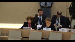 27th Special Session of Human Rights Council - Human Rights in Myanmar - Ms. Lisa Gronemeier