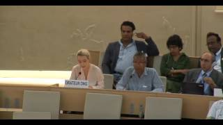 35th Session of the Human Rights Council - GD Item: 10 - Ms Alice Wickens 21 June 2017