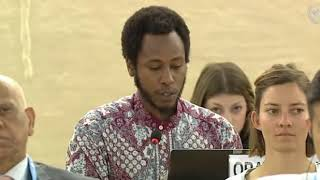 28th Special Session Human Rights Council - Human Rights Situation in Occupied Palestinian Territory - Mr. Mutua K. Kobia