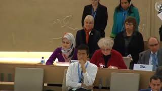 37th Session of the Human Rights Council - High-Level Segment - Ms. Gofran Sawalha 28 February 2018