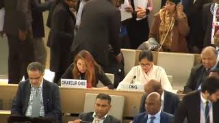 37th Session Human Rights Council - Item 6 GD - Ms. Jennifer D. Tapia, 19 March 2018